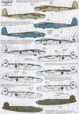 Xtradecal X72188 1/72 Yanks With Roundels Part 5 Model Decals • 8.29£