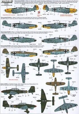 Xtradecal X72162 1/72 The Battle For Malta Axis Model Decals • 8.29£