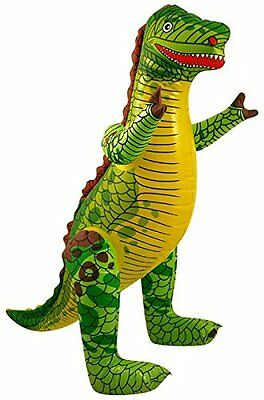 Inflatable DINOSAUR - 40 CM Tall  Zoo Animal Blow Up Inflate Party Toy • 1.55£
