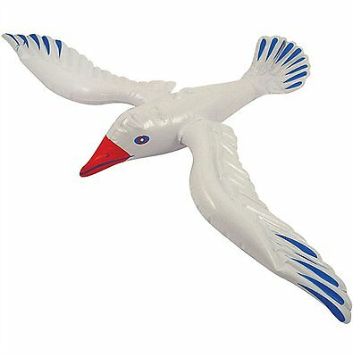 Inflatable Blow Up Seagull Bird 76 CM (X99 111) • 1.94£