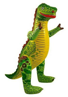 Inflatable Dinosaur 76cm Blow Up Children Kids Party Pool Beach Outdoor Toy X990 • 3.24£
