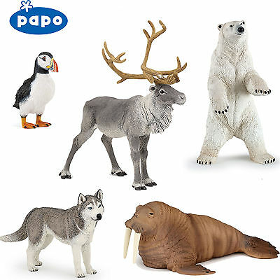 PAPO Wild Animal Kingdom ARCTIC & ANTARCTIC - Choice Of 18 Animals All With Tags • 6.29£