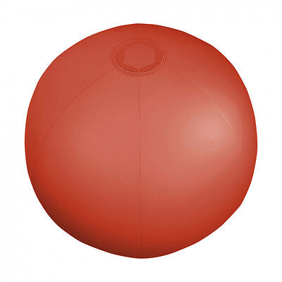 Pack Of 6 X Translucent Red Inflatable Blowup Beach Ball's 9  Brand New • 1.99£