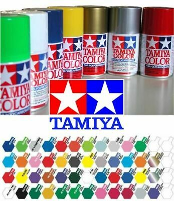 Tamiya Model Spray Paint For Polycarbonate PS-1 To PS-63 In 100ml Aerosol Can • 5.95£