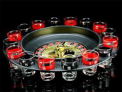 Roulette  Drinking Game With 16 Shot Glasses- Party Stag Hen Spin • 7.25£