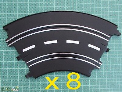 Artin 1:32 Slot Car Road Racing Track Curves X 8 Replace Upgrade Or Extend • 15.74£