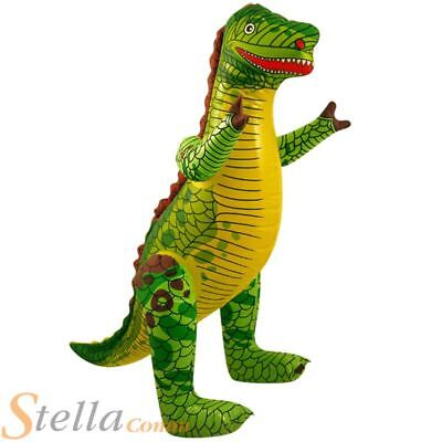76cm Inflatable Dinosaur Dino Pool Party Holiday Beach Party Kids Toy • 3.25£