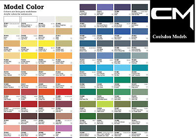Vallejo Model Color Paints Choose From Full Range Of 17ml Acrylics & More • 7.99£