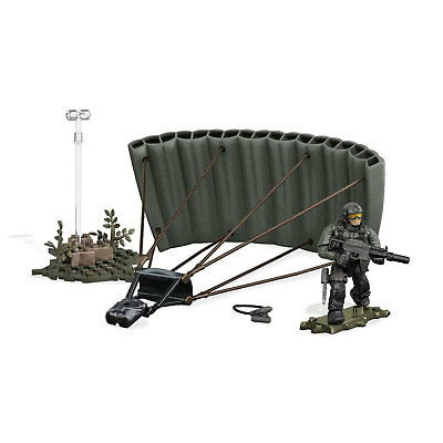 Mega Bloks Construx Call Of Duty JUNGLE PARATROOPER Collector Construction Set • 13.99£
