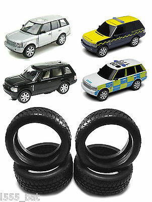 New Scalextric W9472 Tyres 4 Pack For Range Rover Inc Police & Drift All Model • 3.99£