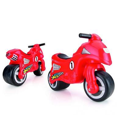 Dolu Toddler Kids My First Moto Ride On Motorcycle Sit On Outdoor Push Along Red • 24.99£
