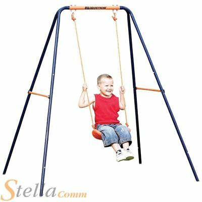 Hedstrom Childrens Single Garden Swing High Tensile Powder Coated Steel Frame • 33.99£