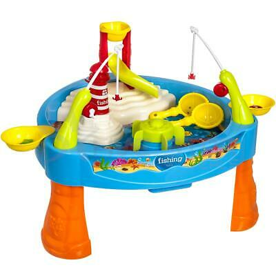 Fishing Table Game Toy Play Waterpark Kids Musical With Accessories Freestanding • 77.94£