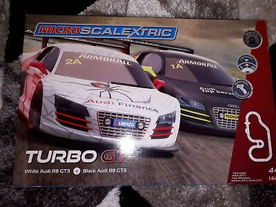 Micro Scalextric Turbo GT • 33£