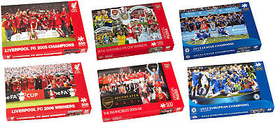 New Official Paul Lamond Football Jigsaw Puzzle Arsenal Liverpool Chelsea 500pc • 6.99£