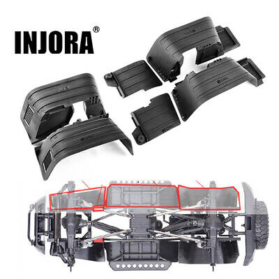 Front & Rear Inner Fender For 1/10 RC Crawler Car Axial SCX10 II 90046 90047 • 24.06£