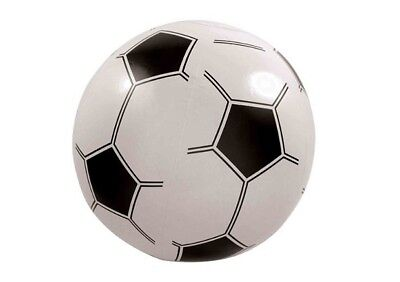 Inflatable FOOTBALL 40cm Beach Party Kids Fun Toy Pool Party Game BULK PRICE • 32.18£