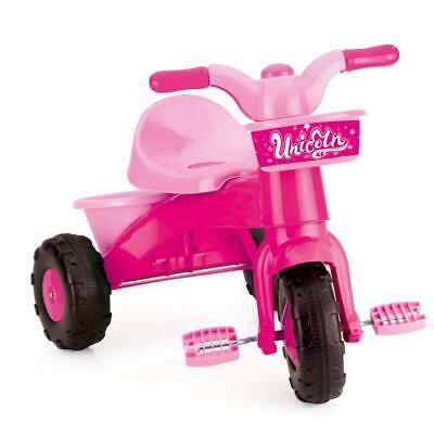 Dolu Unicorn Kids Girls My First Pedal Toddler Trike Ride On, Pink 2 Years+ 2505 • 24.99£