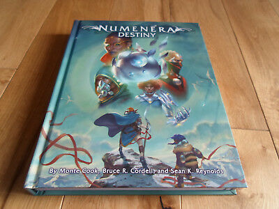 Numenera Destiny Roleplaying Game Rulebook (MINT/NEW) • 30£