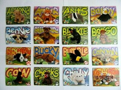 Ty Beanie Babies Collectors Trading Cards - Series 3 1999 - Second Edition • 19.99£