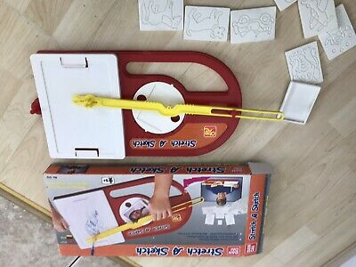 Vintage Rare Bandai 1980s Stretch A Sketch Picture Warping Art Toy • 29.99£