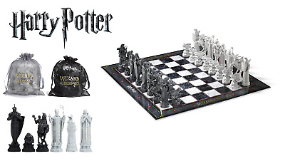 Harry Potter Wizard Chess Set Noble Collection NN7580 Gift Chess • 49.95£