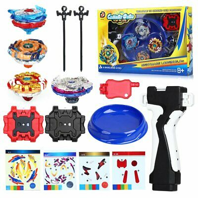 4x Boxed Bayblade Beyblade Burst Set With Launcher Arena Metal Fight Battle UK • 13.99£
