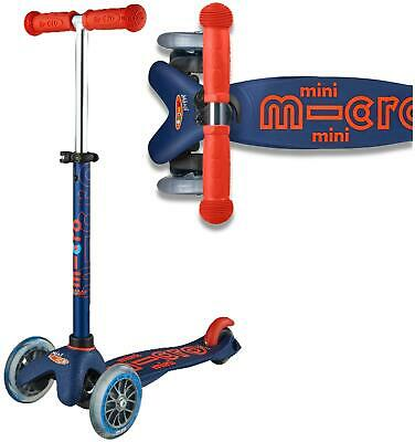 Micro Scooters MICRO SCOOTER NAVY MINI DELUXE Outdoor Toy BN • 83.95£