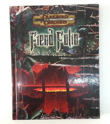 Dungons & Dragons Accessory Fiend Folio First Edition Hard Back Book NEW • 18£