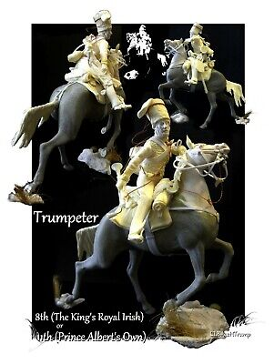 Charge Of The Light Brigade Hussar Trumpeter 120mm Kit • 56£