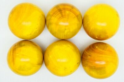 Yellow Lazure Coches For Petanque/Boules Different Quantitys Available  • 16.99£
