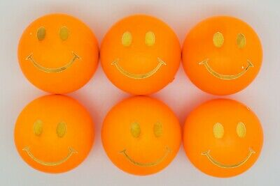 Bright Orange Smiley Coches For Petanque/Boules Different Quantitys Available  • 12.99£