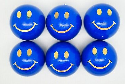 Dark Blue Smiley Coches For Petanque/Boules Different Quantitys Available  • 12.99£