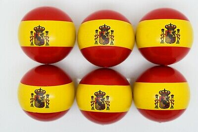 Spanish Flag Coches For Petanque/Boules Different Quantity's Available  • 12.99£