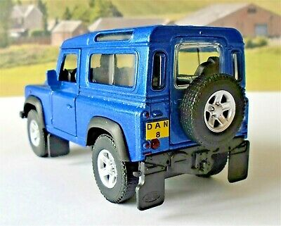 Land Rover Defender PERSONALISED PLATES Boys Toy Model Car Birthday Present New • 8.95£