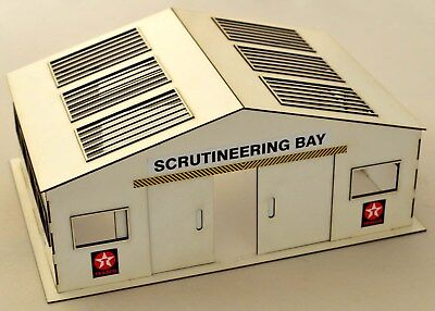 1:32 Scale Srutineering Bay Kit - For Scalextric/Other Static Layouts • 24.50£