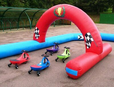 Commercial Bouncy Castle Inflatable Didicar Track • 600£