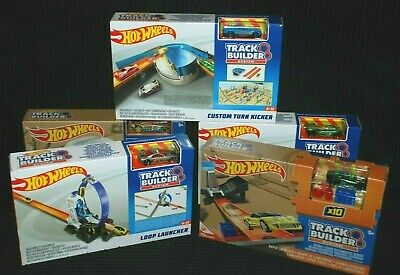 Hot Wheels Track Builder System Extension Sets BNIB - Choose From Various  • 17.99£