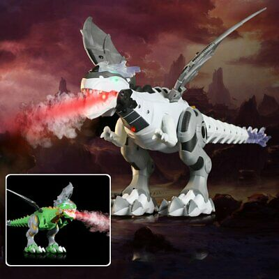 Electric Walking Dragon Toy Fire Breathing Water Spray Dinosaur Christmas Gift • 11.99£