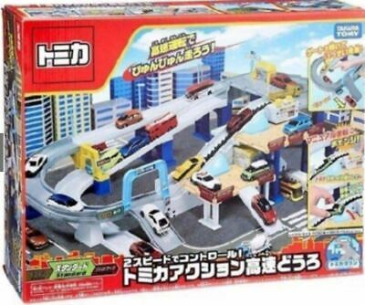 Takara Tomy Tomica City Town 2 Speed Action Highway Playset (NO CAR Included) • 84.64£