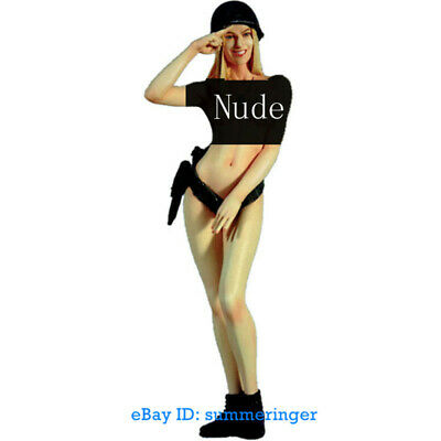 1/9 Scale WWII German Sexy Soldier Unpainted Model Kits Nude Garage Kit Statue • 37.59£