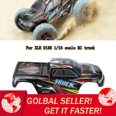 XLH 9125 Off Road Car Nitro RC Car 1/10 Scale Monster Truck Body Shell Cover UK • 12.02£