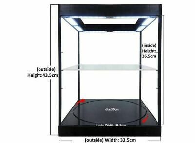 Display Case & Lights, Suitable For 1/18 + 1/24 With Turntable • 119.99£