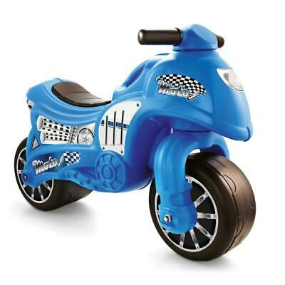 Dolu Kids Toddler My First Moto Push Ride On Motorcycle Sit On Outdoor Toy Blue • 30.99£