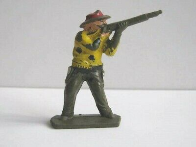 1 X LONE STAR COWBOY 1950/60's PLASTIC TOY SOLDIER  ... 1/32 SCALE HARVEY SERIES • 1.99£