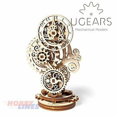 STEAMPUNK CLOCK Wooden Construction Puzzle Mechanical 3D Kit UGears 70093 • 6.07£
