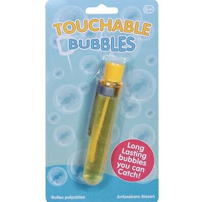 Touchable Bubbles Yellow. Pocket Money, Outdoor Toys • 2£