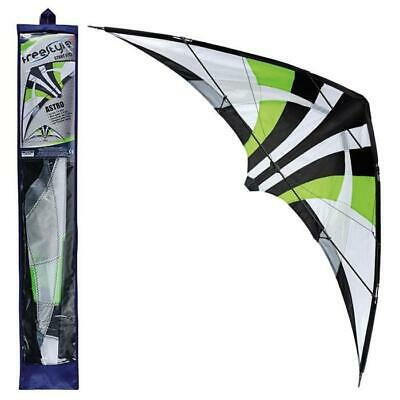 Stunt Kite 2 Line Freestyle Toyrific Astro 1.15m Wing Span Easy Fly Large Pro • 16.49£