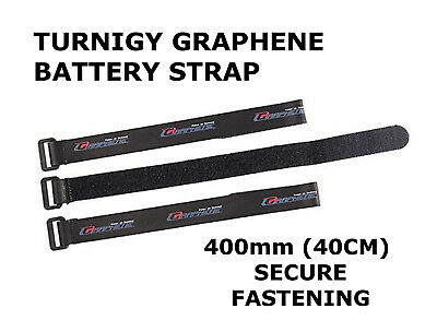 Turnigy RC Graphene 400mm/40cm Strong/Secure Lipo Battery Adjustable Strap - UK • 4.29£