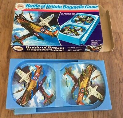 Battle Of Britain Bagatelle Zodiac Boxed Retro War Toy Game • 10£